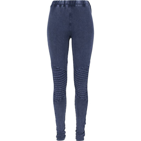 Urban Classics Ladies Denim Jersey Leggings, indigo L