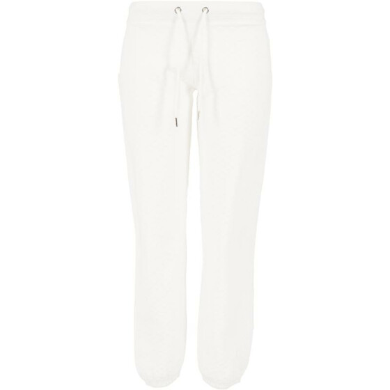 Urban Classics Ladies Quilt Jogging Pants, offwhite M