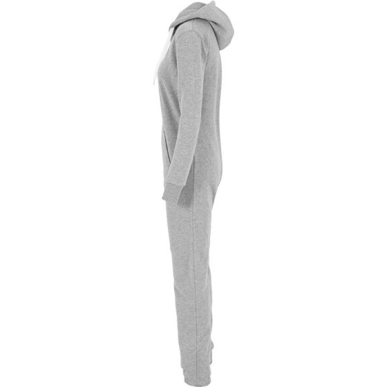 Urban Classics Ladies Sweat Jumpsuit, gry/wht S