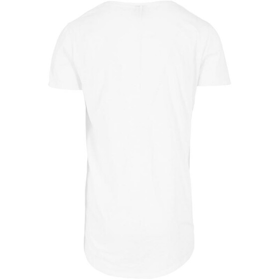 Urban Classics Long Back Shaped Slub Tee, white L
