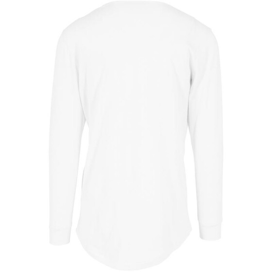 Urban Classics Long Shaped Fashion L/S Tee, white M