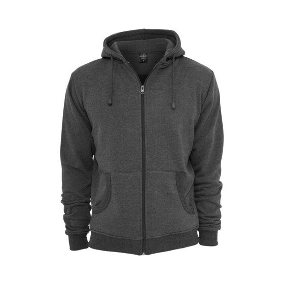 Urban Classics Relaxed Zip Hoody, charcoal XXL