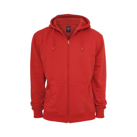 Urban Classics Relaxed Zip Hoody, red M