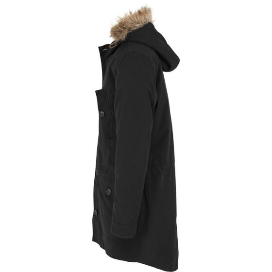 Urban Classics Sherpa Lined Cotton Parka, black XL