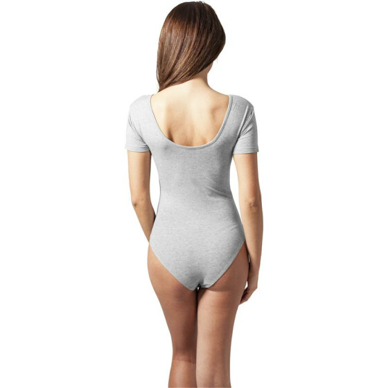 Urban Classics Ladies Stretch Jersey  Body, grey M
