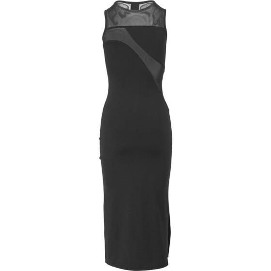Urban Classics Ladies Tech Mesh Dress, black S