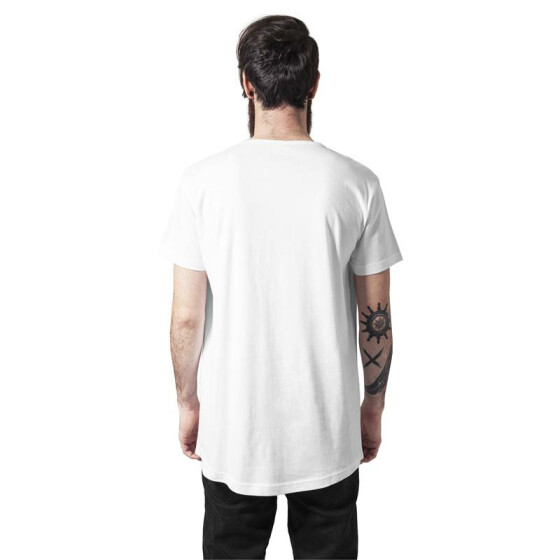 Urban Classics Peached Shaped Long Tee, offwhite XXL