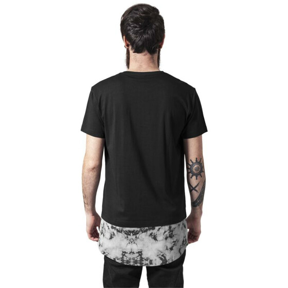 Urban Classics Long Shaped Marble Tee, black S