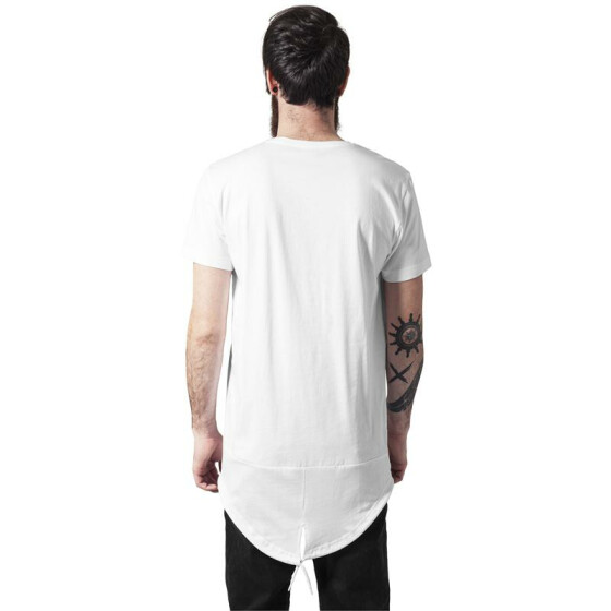 Urban Classics Long Tail Tee, wht/wht L