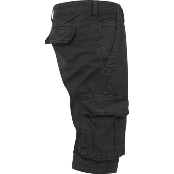 Urban Classics Fitted Cargo Shorts, black 34