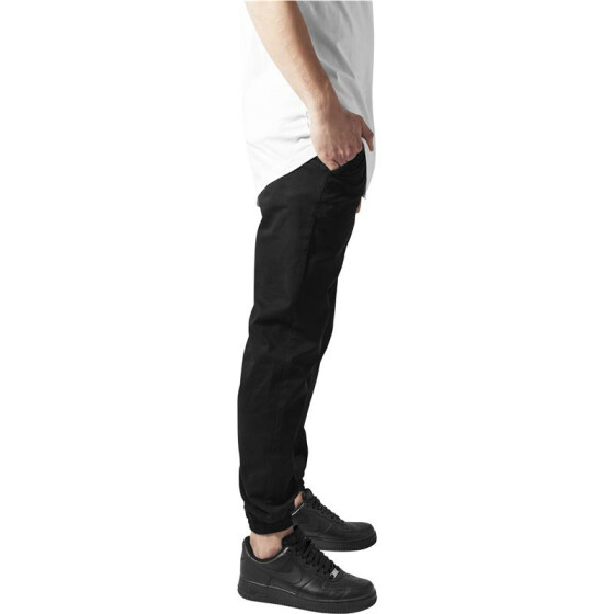 Urban Classics Stretch Twill Jogging Pants, black M