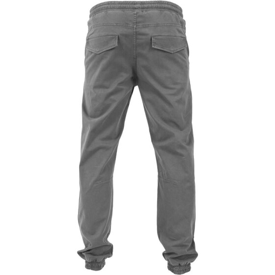 Urban Classics Stretch Twill Jogging Pants, darkgrey L