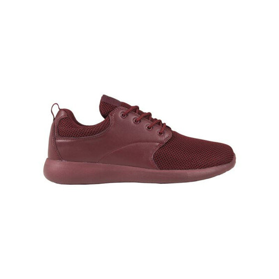 Urban Classics Light Runner Shoe, burgundy/burgundy 37