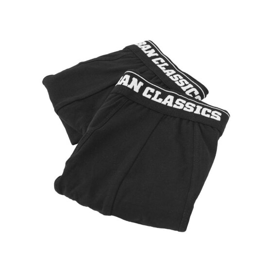 Urban Classics Men Boxer Shorts Double Pack, blk/blk XL/7