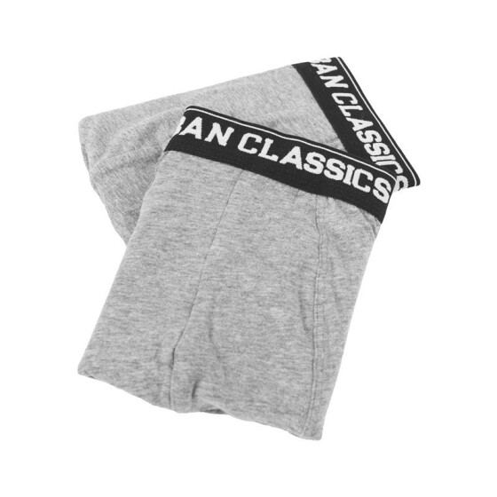 Urban Classics Men Boxer Shorts Double Pack, gry/gry XL/7