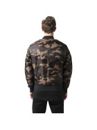 Urban Classics Camo Basic Bomber Jacket, wood camo S
