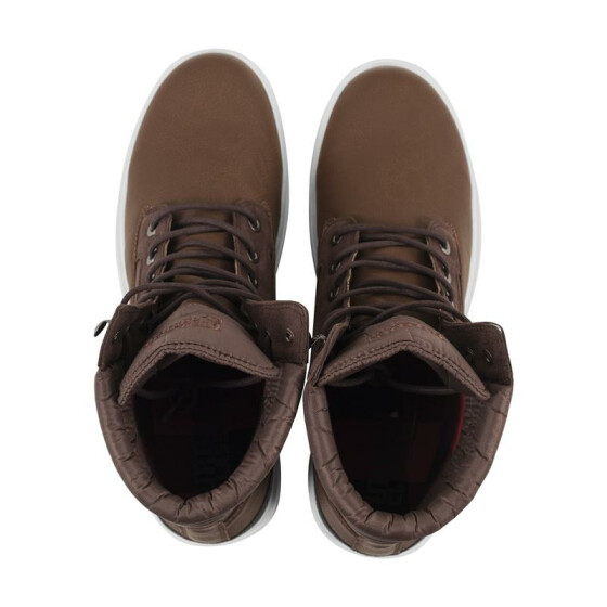 Urban Classics Winter Boots, brown/darkbrown 43