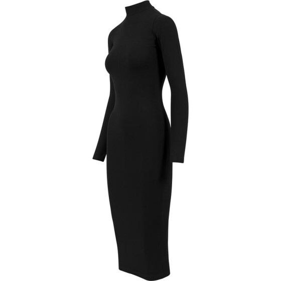 Urban Classics Ladies Turtleneck L/S Dress, black M