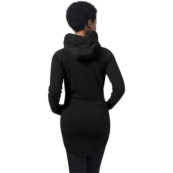 Urban Classics Ladies Athletic Interlock Zip Hoody, black L