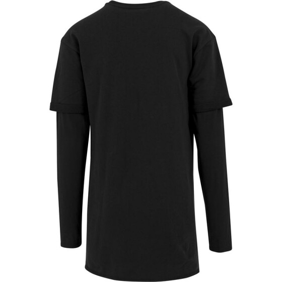Urban Classics Long 2 in 1 Terry Crew, black S
