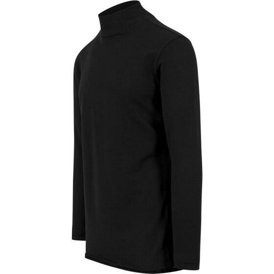 Urban Classics Long Open Edge Turtleneck Crew, black L