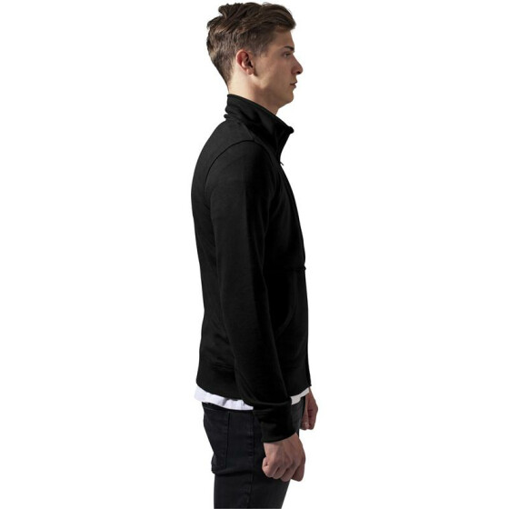 Urban Classics Loose Terry Zip Jacket, black XXL