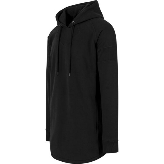 Urban Classics Long Shaped Hoody, black M