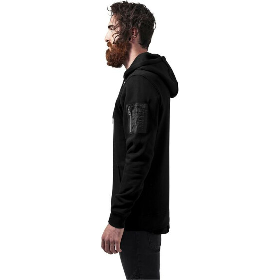 Urban Classics Sweat Bomber Hoody, black L