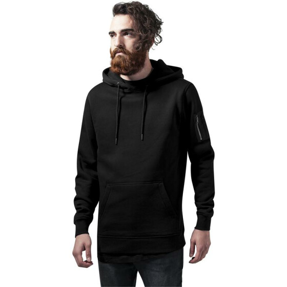 Urban Classics Sweat Bomber Hoody, black XL
