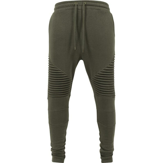 Urban Classics Pleat Sweatpants, olive L