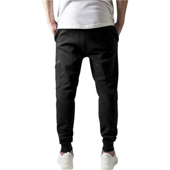 Urban Classics Athletic Interlock Sweatpants, black S