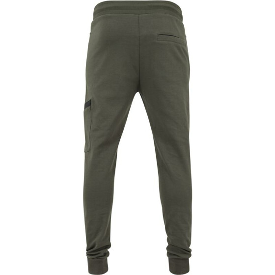 Urban Classics Athletic Interlock Sweatpants, olive XXL