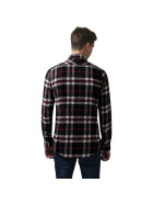 Urban Classics Checked Flanell Shirt 3, blk/wht/red XXL