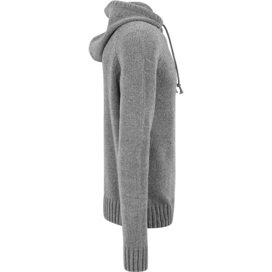Urban Classics Chenille Hooded Sweater, grey XL