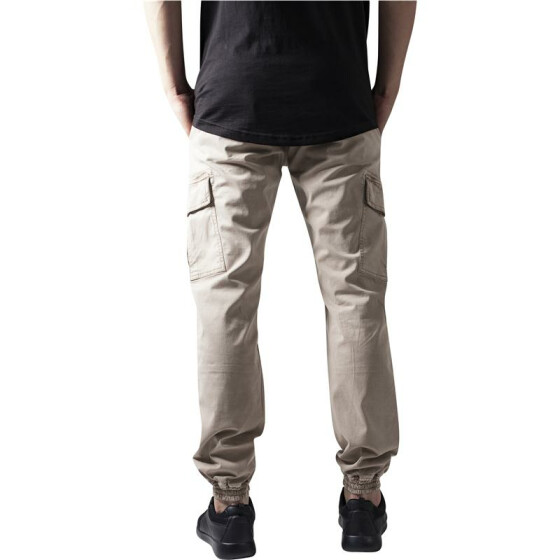 Urban Classics Washed Cargo Twill Jogging Pants, sand 32