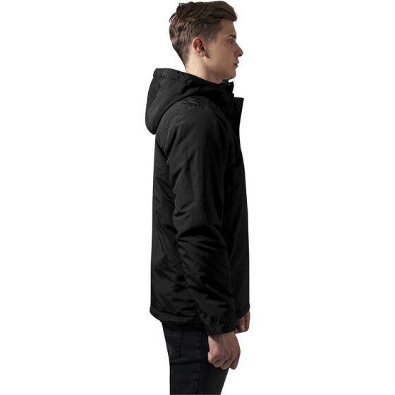 Urban Classics Padded Pull Over Jacket, black M