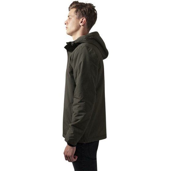 Urban Classics Padded Pull Over Jacket, olive XXL