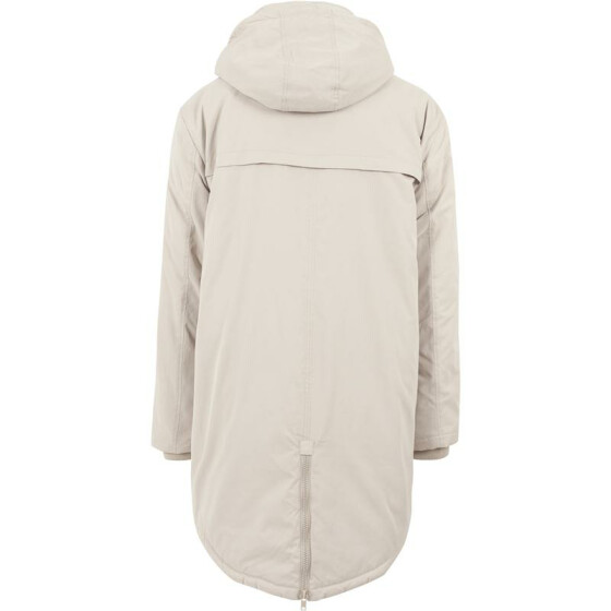 Urban Classics Cotton Peached Canvas Parka, sand XXL