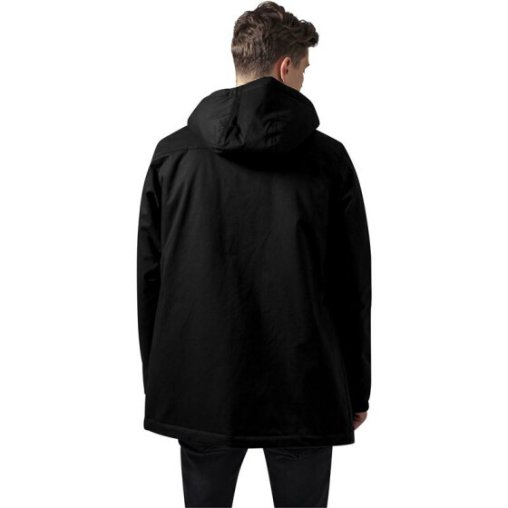 Urban Classics Heavy Cotton Parka, black L