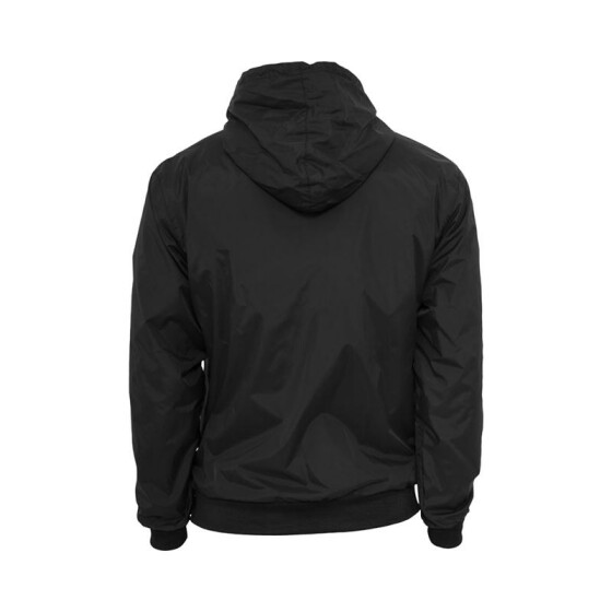 Urban Classics Contrast Windrunner, blk/red S