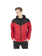 Urban Classics Arrow Windrunner, red/blk XXL