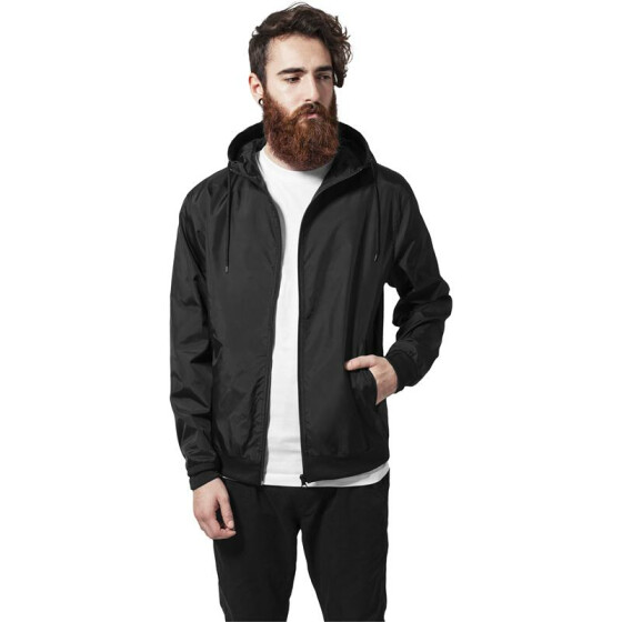 Urban Classics Windbreaker, black XL