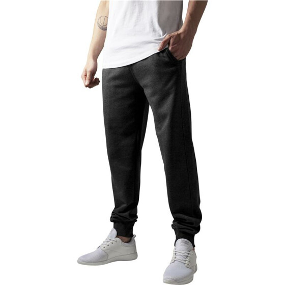 Urban Classics Straight Fit Sweatpants, charcoal S