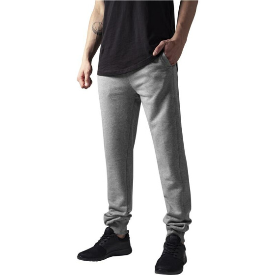 Urban Classics Straight Fit Sweatpants, grey S