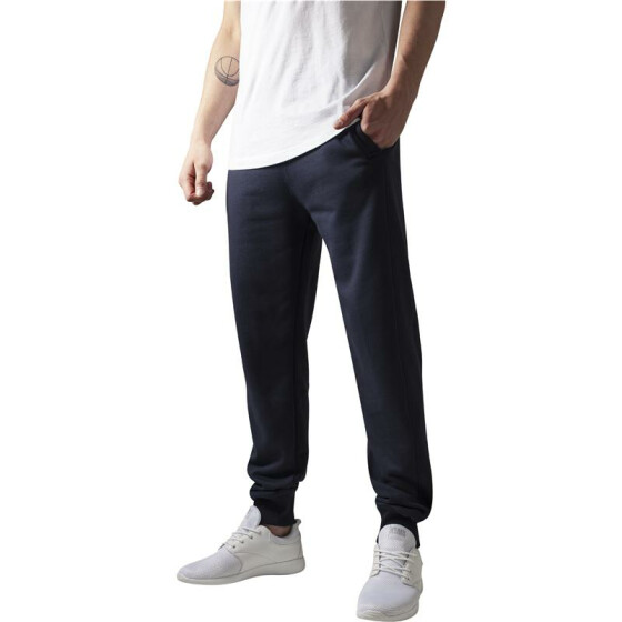 Urban Classics Straight Fit Sweatpants, navy L