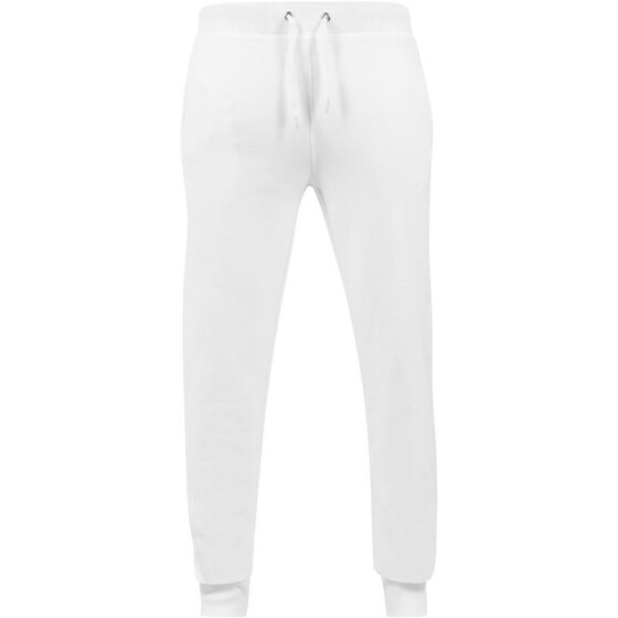 Urban Classics Straight Fit Sweatpants, white S