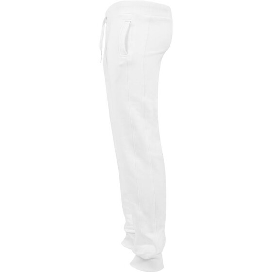 Urban Classics Straight Fit Sweatpants, white M