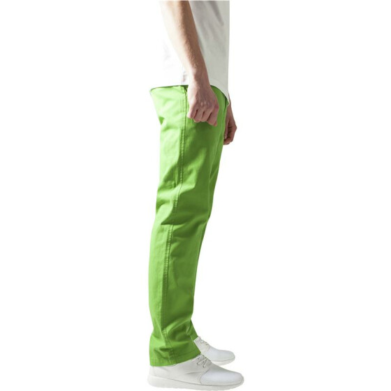 Urban Classics Chino Pants, limegreen 38