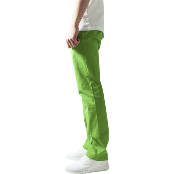 Urban Classics Chino Pants, limegreen 28