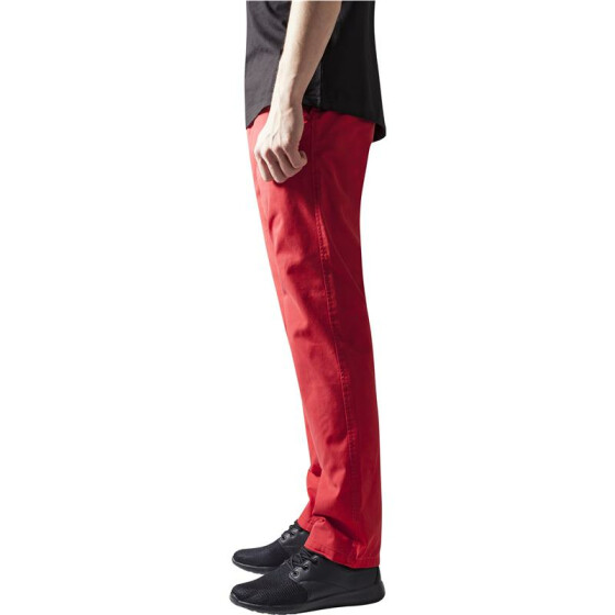Urban Classics Chino Pants, red 30